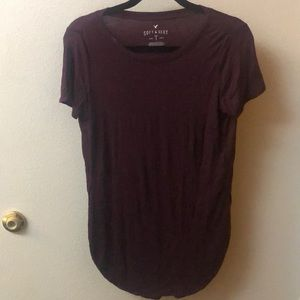 American Eagle Soft and sexy T with side slits